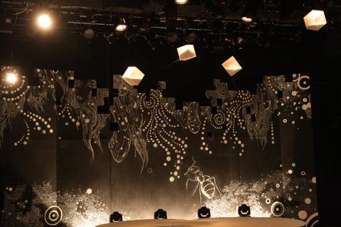舞台装飾 壁面画