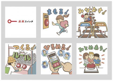 NHK NEWS WEB  『未来スイッチ!課題解決で暮らしやすい社会へ』